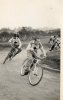 1950s Aces. Brian Scarlet leads, other riders unknown.