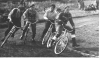1952 Hitchin Aces v Whipps X Comets. L/R: Sid Sherman(WC)-?-Don Hewlet(WC)-?