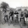 Moorland Crescent. L/R Norman Carson- Ray Turner- Keith Dyer- George Taylor- Gess Atkinson.