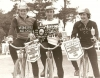 1978 British Individuals at Norwich. L/R: Roger Ellis(runner-up)-John Watchman(winner)-Kevin Greenhalgh(third).