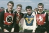 Pride of the South at Bournemouth. L/R: Ray Chivers(S/L Rangers)-Keith Dawson(Beck Mon)-Mike Pretty(Bourn Visc)- Dennis Daniel(Beck Mon).