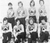 1977 Epping Aces taken at Poole. Back row L/R: Dave Palfreyman-Steve Goodfellow-?- Richard Kemp. Front: John Goodfellow-Peter Brooks-Les Stevens-?