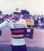 1983 World Champion Roger Ellis Toasts his win.