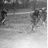 1950 at Walthamstow. John Mason leads S Smitherson & Bill Nutting.