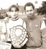 1993 British Under 15 Champion - The names Aris - like father like son. Mick and young son Lee.