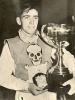 1950 Jim Gale Receives National Team Trophy