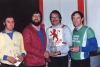 L/R Roy Chapman(Spixworth) - Dennis Smith - Rod Witham(Hellesdon) - Mike Parkins(Tuckswood).