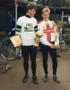 1987 World Individual(Masters) Norwich. Andy Barnes(runner up) and Martyn Hepworth(winner).