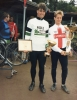 1987 World Individual(Masters) at Norwich. Martyn Hepworth(winner) and Andy Barnes(runner-up).