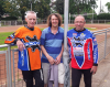 2013 Tyneside Reunion at the Eurovets in East London. L/R: Terry Kirkup-Les Gustafson-Jim Graham..